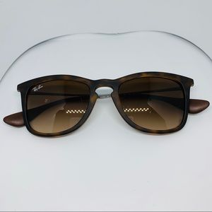 Authentic Rayban RB 4421 Brown Matte